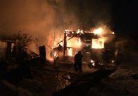 Несколько пожаров зарегистрировано на территории АГО