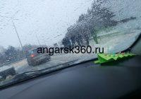 Пять машин столкнулись по дороге в Иркутск