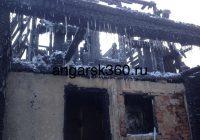 Два человека погибли при пожаре