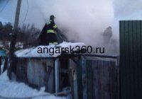 Несколько часов назад в Ангарске при пожаре погиб человек