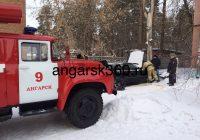 Ещё одно возгорание в Ангарске