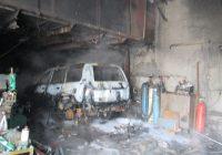 При пожаре погиб житель Усолья-Сибирского