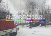 В микрорайоне Юго-восточный сгорело деревянное строение