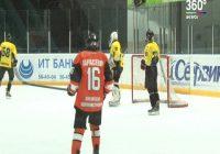 Продолжается первенство России по хоккею среди команд юниорской хоккейной лиги
