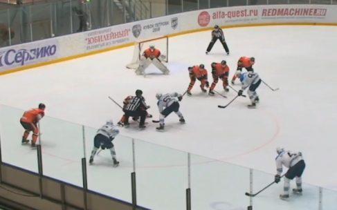 «Ермак» одолел «Зауралье» в первой домашней игре 1/4 плей-офф