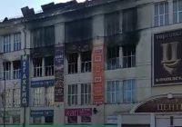 Центр занятости поможет работникам сгоревшего Ангарского торгового комплекса