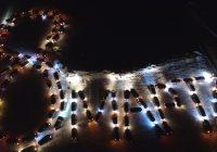 С наступающим весенним праздником поздравили ангарские автолюбители прекрасную половину человечества