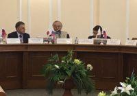Японская делегация в Ангарске