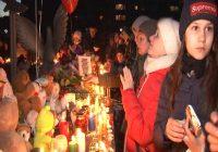 Ангарчане почтили память погибших в Кемерове