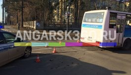 В Ангарске под колёсами автобуса погиб человек