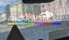 Легковой автомобиль обстреляли в центре Ангарска