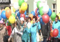 Трудовые коллективы Ангарска демонстрацией отметили 1 мая