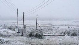 Снегопад прошел в Бурятии