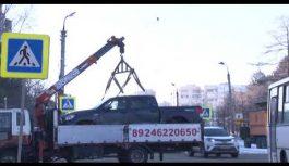 Трамваи встали днем в среду на улице Коминтерна