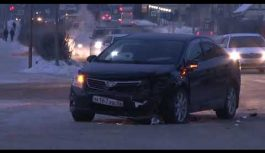 Очередное дорожно-транспортное происшествие зарегистрировано ранним утром в Ангарске