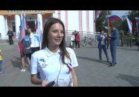 Более двухсот человек приняли участие в праздновании дня российского флага в Ангарске