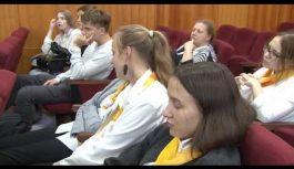 Торжественное посвящение в ученики профильного «Роснефть-класса» состоялось в десятой школе