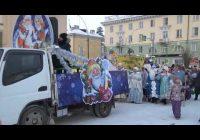 Традиционный — уже седьмой Парад Дедов Морозов и сказочных героев прошел в минувшую субботу