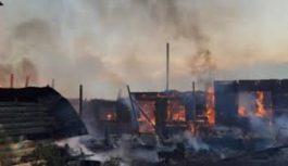 Возгорание на балконе одного из домов в двадцать втором микрорайоне произошло в минувший вторник