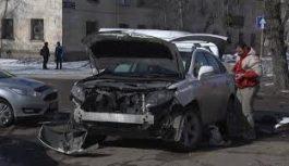 Очередное дорожно-транспортное происшествие случилось в старой части Ангарска