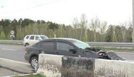 Три человека в тяжелом состоянии были госпитализированы 26 мая после ДТП на новом китойском мосту
