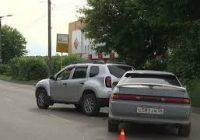 Сразу три автомобиля попали в дорожно-транспортное происшествие на Чайковского недалеко от перекрестка с улицей Макаренко