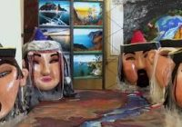 Выставка «История зарождения Байкала» открылась в ангарском Художественном центре